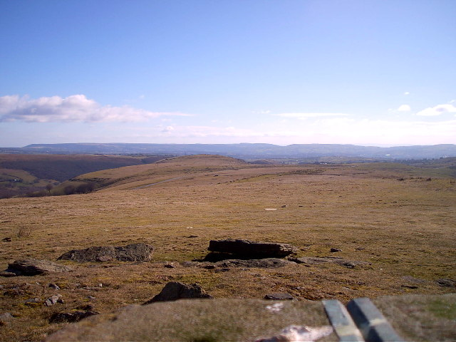 Trig point at Pen Carnbugail