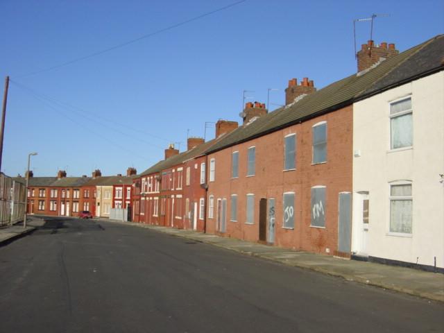 Derelict Housing Tyrer Street, Birkenhead