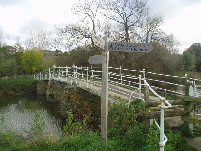 Colber Footbridge at Sturminster Newton