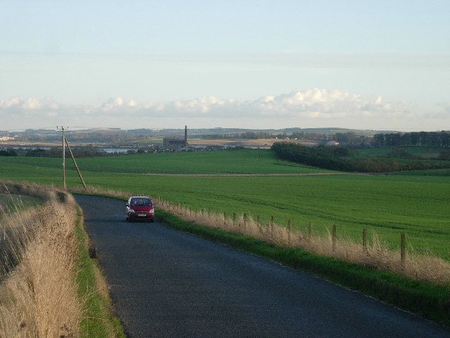 Minor road linking Balmullo and Leuchars