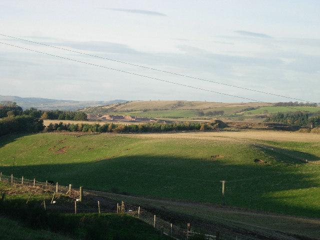 Farmland west of  North Straiton