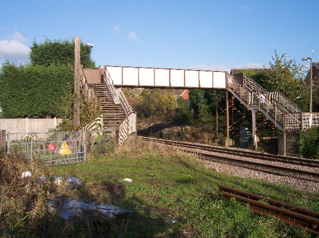 Site of Fernhill Heath Station