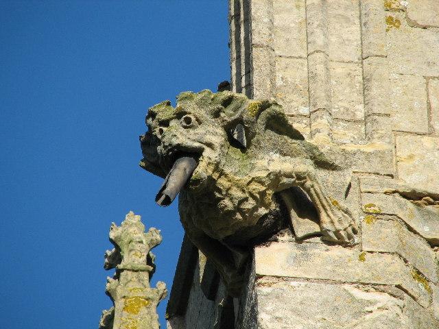 Gargoyle, All Saints church Fenton.