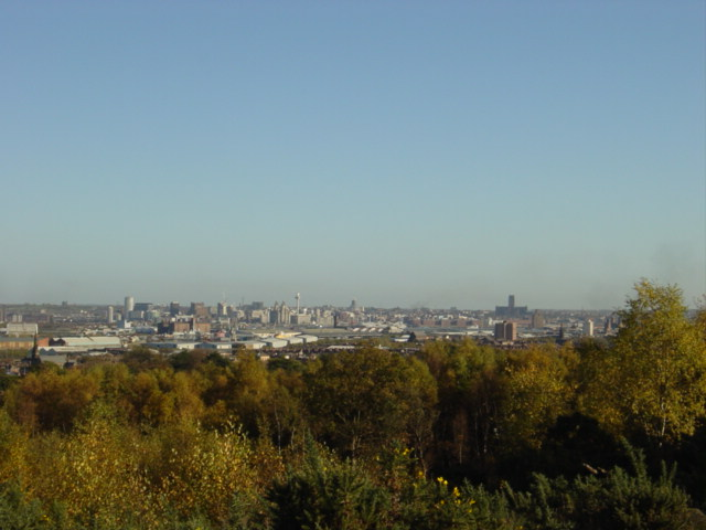 Liverpool from Bidston Hill