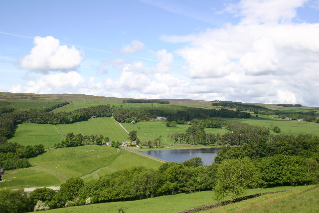 Tunstall Reservoir, - the Dam