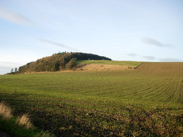 Round Hill from Wester Kilmany
