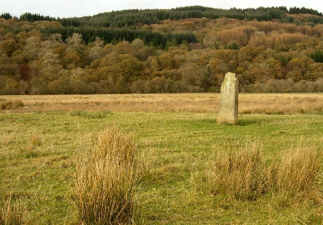 Standing Stone at Kilmichael Glassary, Argyll