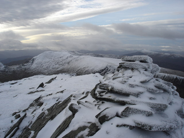 Summit Cairn An Stuc