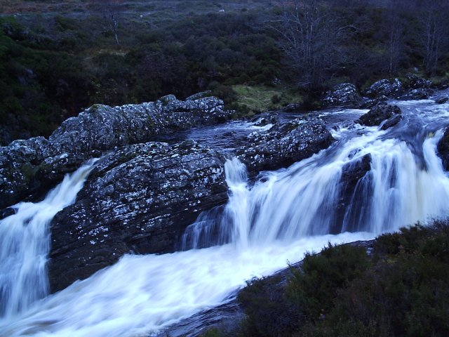 The River Carron Water Fall
