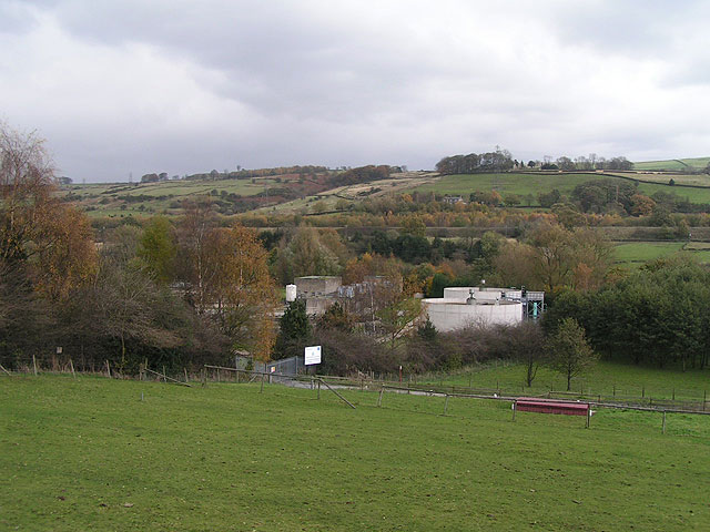 Whaley Bridge Sewage Works