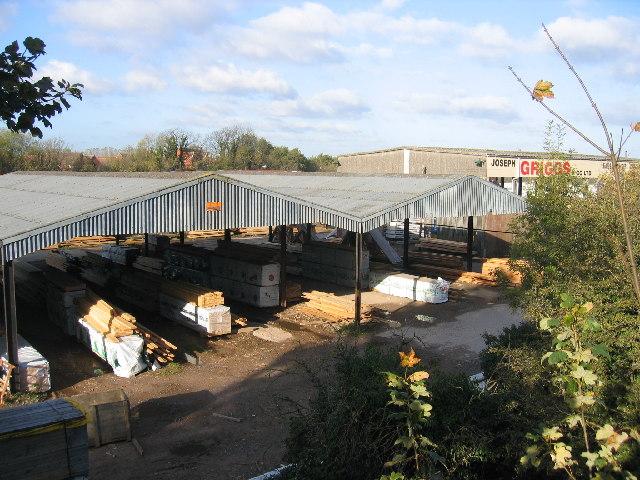 Timber yards, Bristol Road