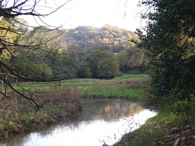 West Looe River south of Sowden's Bridge