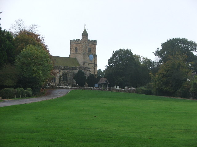 Benenden Village, church and cricket field