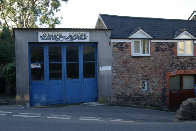 Walters Garage, (Modbury old fire station), Modbury, Devon
