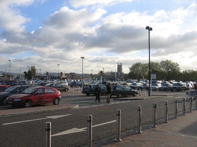 St Oswald's Market car parks