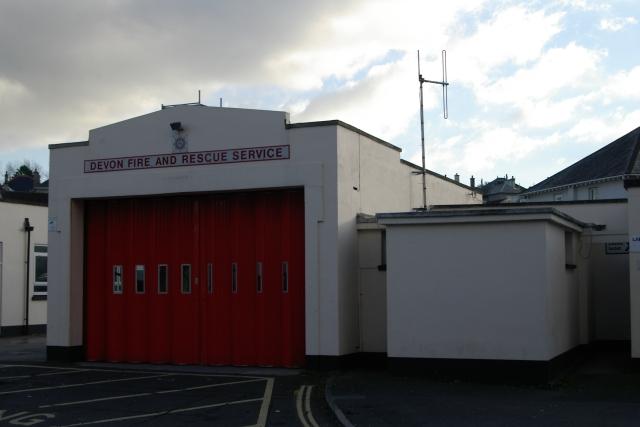 Plymstock fire station