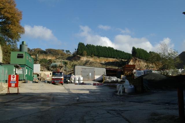 Zigzag Quarry, Aller, Newton Abbot, Devon