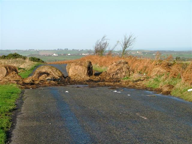 Road Block, Gerrick Lane