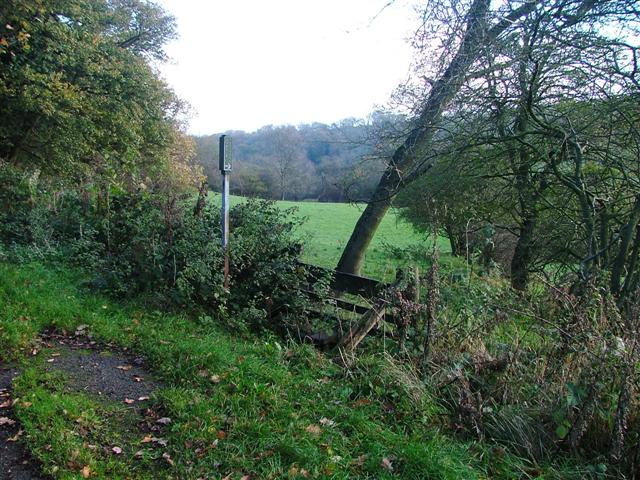 Public Footpath, Ridge Lane