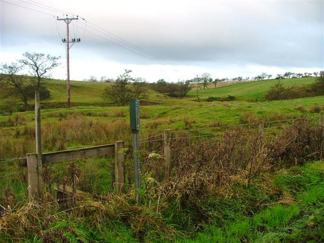 Public Footpath, Roxby Low Moor