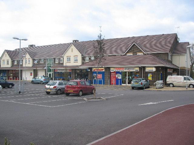 Local Centre, Leigh Park, Westbury