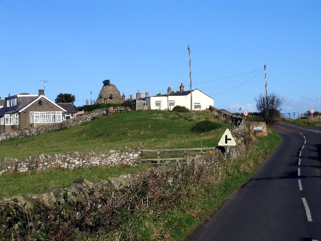 Southern entrance to Embleton village