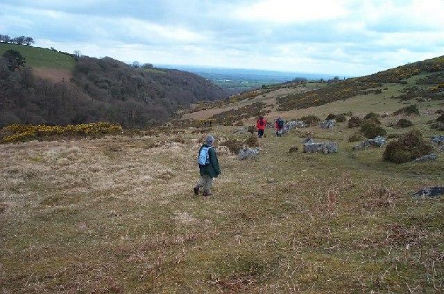 East Okement valley - Dartmoor