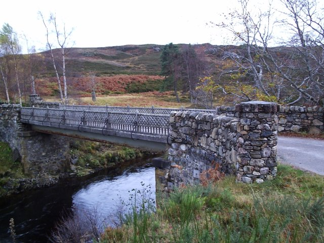 The Bridge  to Glen Calvie Lodge