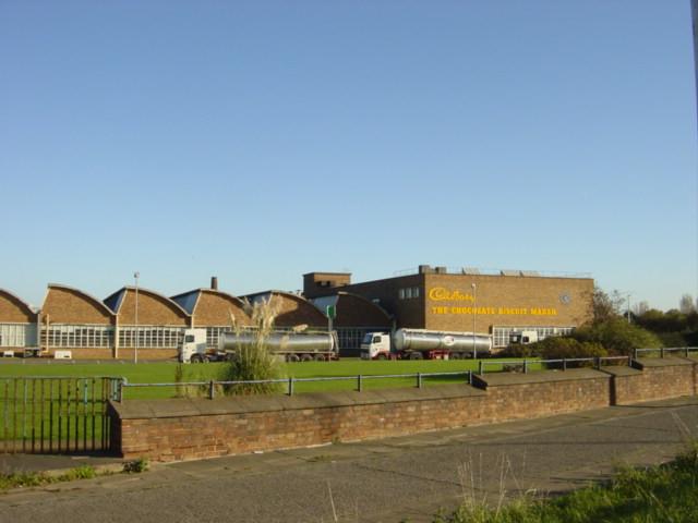 Cadbury's Factory, Moreton