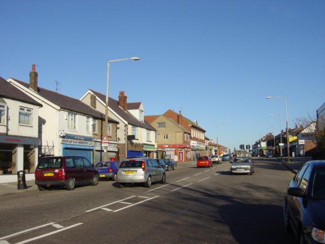 Shops on Hoylake Road, Moreton