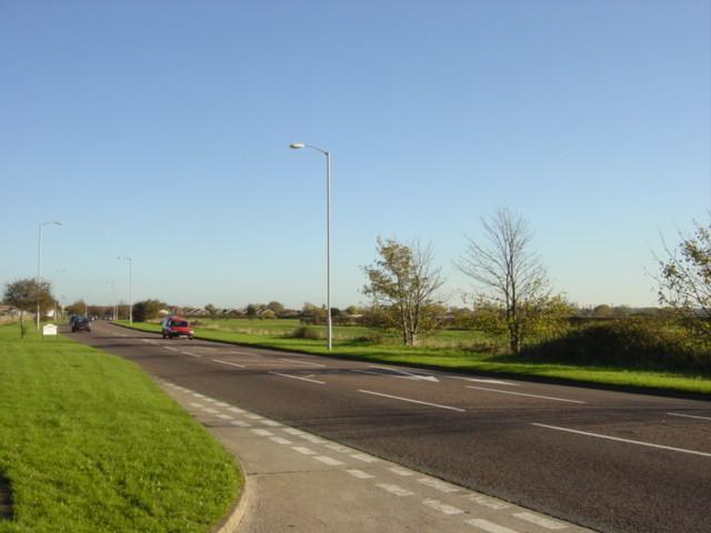 Hoylake Road at Carr Houses