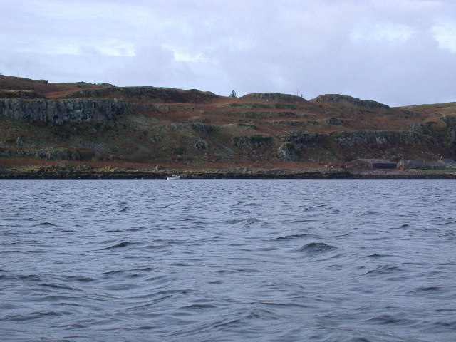 Approaching Little Cumbrae