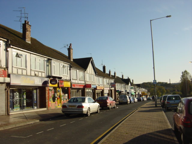 Shops, Arrowe Park Road, Upton