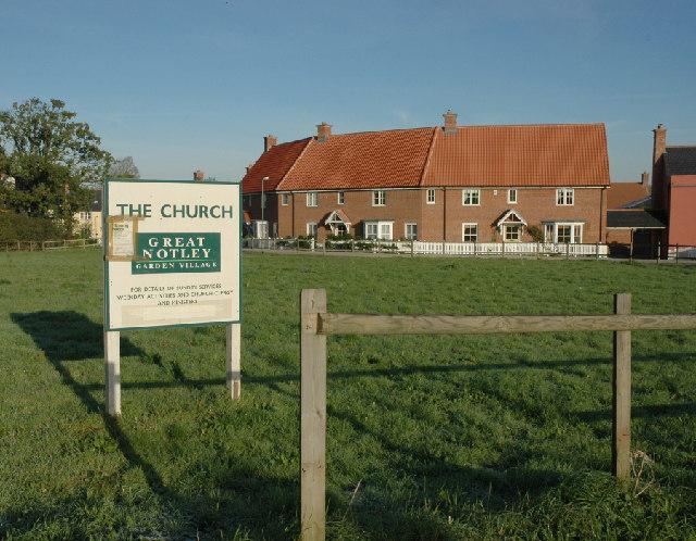 Gt Notley Parish Church , When Built !