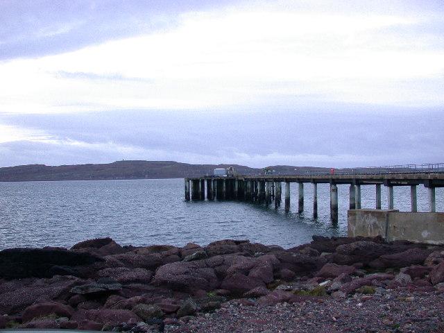 Hunterston Pier.