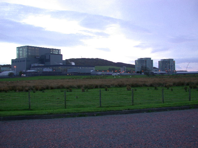 Hunterston Nuclear Power station.