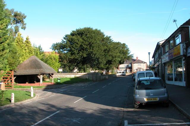 Clanfield village