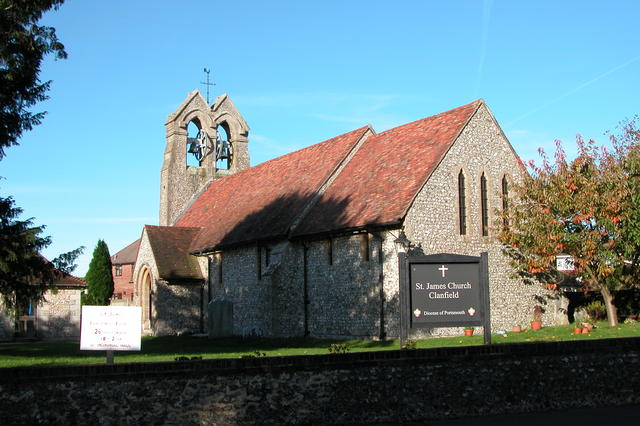 St James' Church, Clanfield