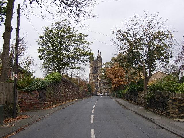 Church lane, Mirfield