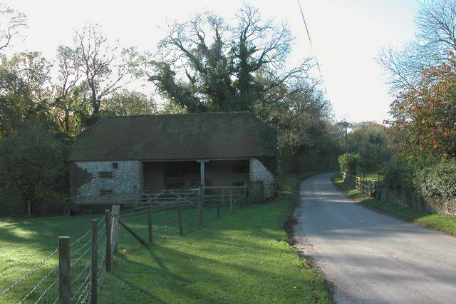 Barn at Hyden Farm, near Hambledon