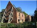 TA0249 : Watton Abbey - Barn by Stephen Horncastle