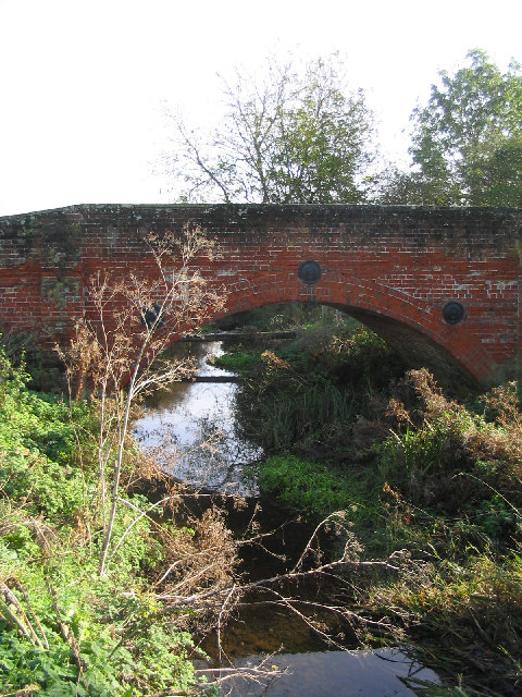 Bridge over Cripsey Brook, Moreton, Essex
