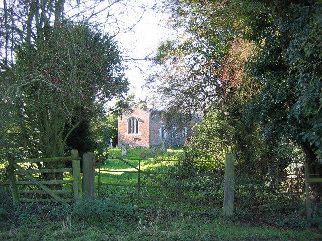 St. Mary's Church Through the Gate