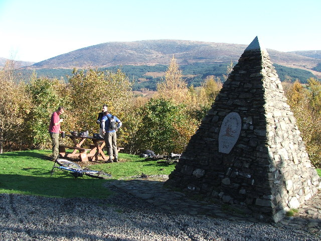 Galloway Forest Park monument