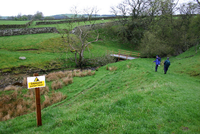 Footpath Round the North Side of Hury Reservoir