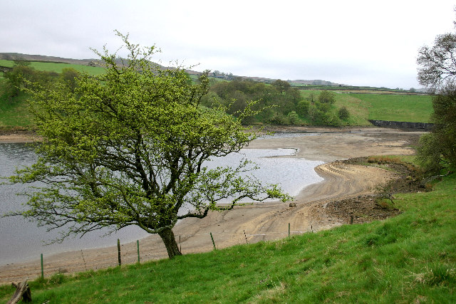 Reservoir Between Hury and Blackton Reservoirs
