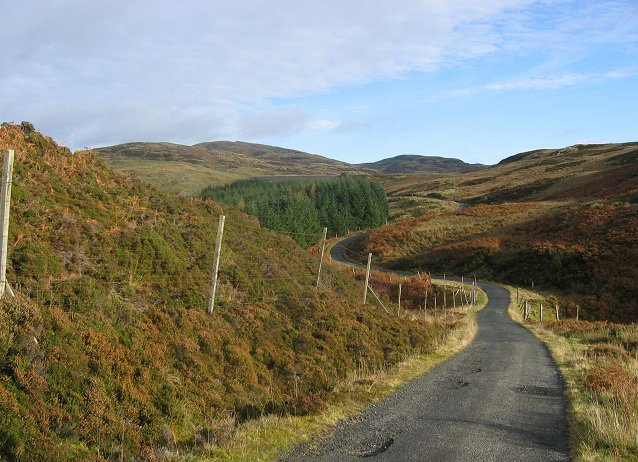 Lochan Breaclaich road.