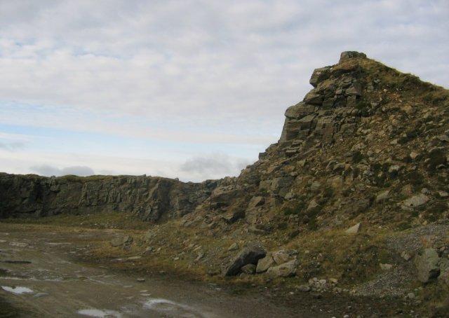 Quarry, Lochan Breaclaich.