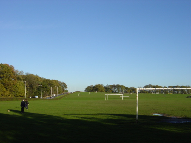 Football Pitches, Arrowe Brooke Road