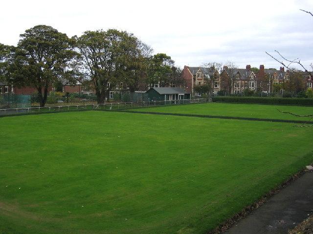 Bowling Greens next to Monkseaton Metro